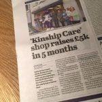 Kids n' Kinship Shop Raises £5,230.49
